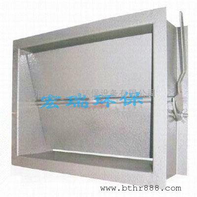 矩形电动防爆通风蝶阀厂家 方型通风调节阀