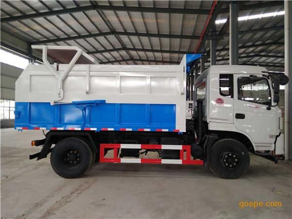 8吨污泥运输车 8吨含水污泥清运车市场价格