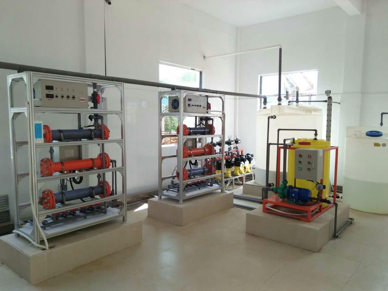 河南次氯酸钠发生器厂家-农饮水电解食盐消毒设备