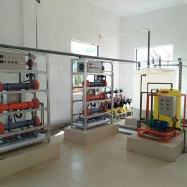 中小型水厂次氯酸钠发生器价格/水厂消毒设备厂家报价