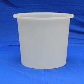 惠民400L食品级大白桶圆形塑料垃圾桶发酵桶密封桶