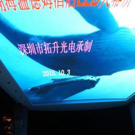 香港大型商场室内天幕p3高清LED电子显示屏厂家