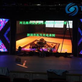 酒店会场8米*5米舞台P3.91全彩LED大屏幕价格是多少