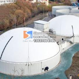 斯柯瑞膜结构工程 含酚废水处理 钢膜 反吊膜结构污水加盖除臭