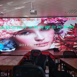 中山火车站候车厅火车到站信息p3全彩LED电子屏价格