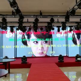 舞台P2.976高清LED电子拼接大屏幕铝箱航空插头价格
