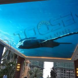 酒店60平方的p3室内天幕LED显示屏费用多少钱一个平方