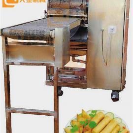 圆形春卷皮机 C-3824小型春卷皮机 成本更低 操作简单