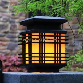 户外仿云石围墙灯 不锈钢防水庭院柱头灯景观照明灯批发