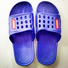 SPU防静电拖鞋 食品车间工作鞋 蓝色SPU拖鞋