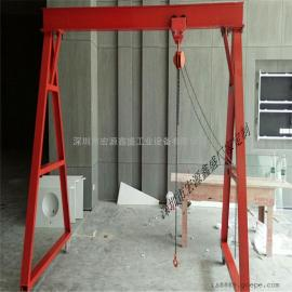 深圳手拉龙门架厂家,横梁式龙门吊架龙门架定制