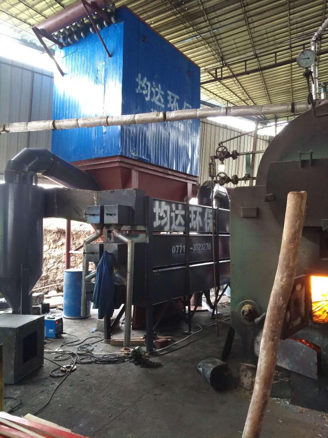 燃烧生物质锅炉布袋除尘器
