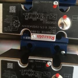 力士乐比例阀R900927230 4WREE10E75-2X/G24K31/A1V现货铸铁RH