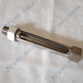 加工定制直通式小型玻璃管油位计 直接小型玻璃管水位计 液位计
