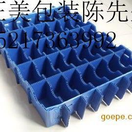 专业生产制作湖南 塑料空心板刀卡 pp中空板隔板 格挡定做
