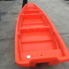广饶4米全新料塑料渔船专业钓鱼船捕鱼船小型游艇
