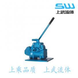 SH系列手�u泵 SH型手�u油泵