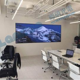 高清视频会议P1.923全彩led电视拼接屏含系统报价