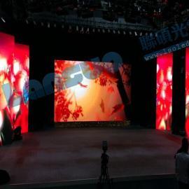 舞台P4.81全彩led显示屏500*1000压铸铝箱多少钱