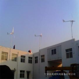 船用监控风机1000W水平轴低转速风力发电机