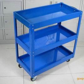 深圳手推工具车 工具柜 车间维修移动工具车 三层小推车