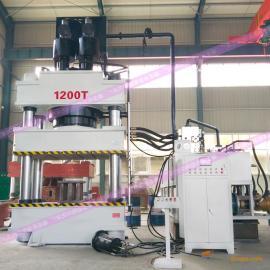 恒劲1200吨压力机金属拉伸液压机校平压力机