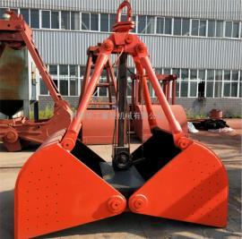 河南抓斗厂家 1立方轻型单绳悬挂抓斗 抓泥煤 煤渣 焦碳专用