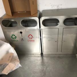 苏州不锈钢分类桶-苏州不锈钢分类果皮桶-苏州不锈钢垃圾桶厂家