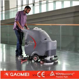 环氧地坪车间用洗地机 GM70BT双刷地面清洗机