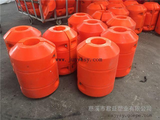 直径800*1000孔径110拦污塑料浮体 拦截垃圾塑料浮体