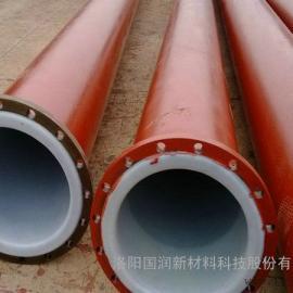 DN350衬塑管道_江西化工盐水管