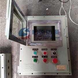 plc触摸屏显示防爆箱