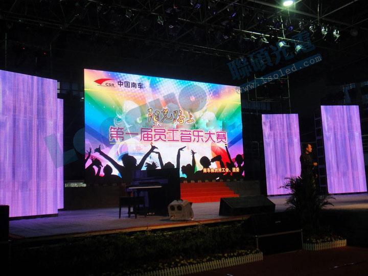 搞活动演出led舞台屏P4.81全彩压铸铝箱厂家价格