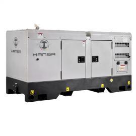 酒店备用柴油发电机组三十千瓦静音箱式HS-37.5/S