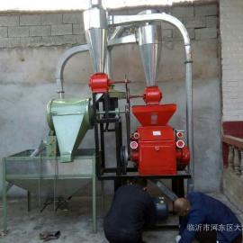 自动上料小麦磨面机全自动循环型