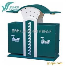 西安垃圾桶,钢板果皮箱,垃圾箱厂家