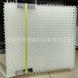 水洗式吸尘打磨台滤芯 塑料过滤芯体材料 塑料水帘 降温水帘