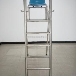 南昌游泳池救生椅,游泳池不锈钢瞭望台,不锈钢救生员观察台