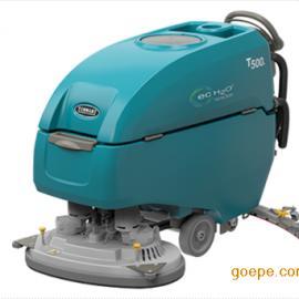 美国坦能手推式中型洗地机全自动洗地机工厂酒店商场用洗地机