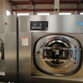 大型酒店布草洗涤设备_全自动宾馆床单洗衣机_大型洗衣房设备