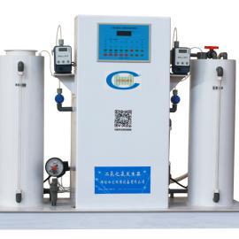 大型二氧化氯发生器流程/水厂消毒加氯机