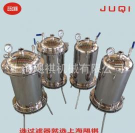 供应200型正压过滤器 实验室除菌过滤器 不锈钢桶式过滤器