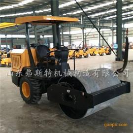 浙江省3吨后胶轮压路机价格 座驾式全液压压路机厂家直供