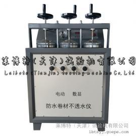 电动防水卷材不透水仪 自动控制 加气加压
