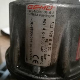 盖米隔膜阀Gemu 532 50D 39 90 5 1 4抗振动模式