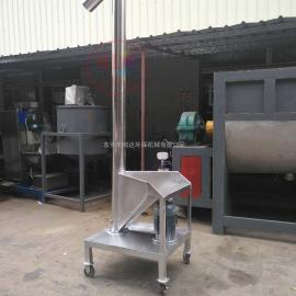 厂家定制219管径螺旋上料机 塑料颗粒输送机 包装机配套设备