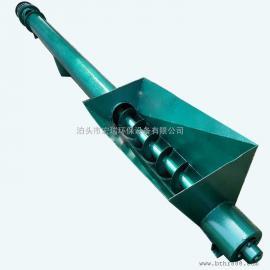 河北GX型管式螺旋输送机参数 输送物料管式机 管式绞龙上料机