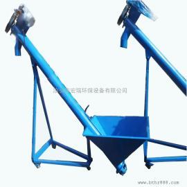 粮食管式螺旋输送机 不锈钢螺旋输送机小型管式移动式螺旋输送机