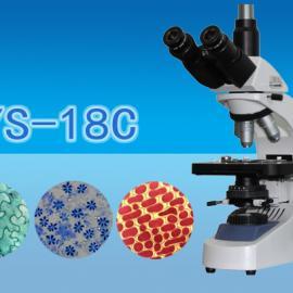 三目生物显微镜WYS-18C