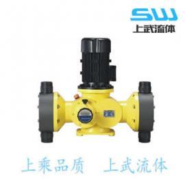 GB-S系列机械隔膜式计量泵 GB-S型双头计量泵